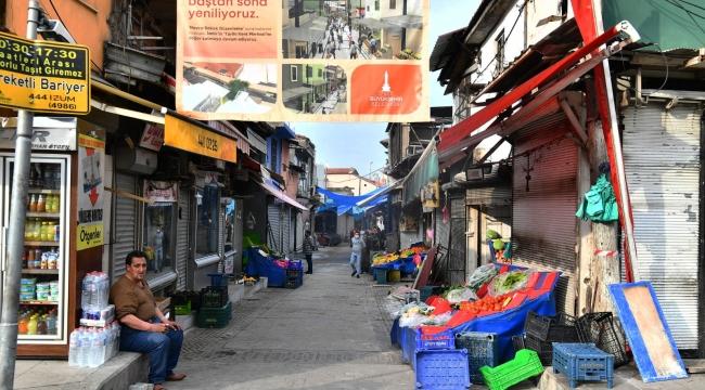 İzmir'in kalbine 200 milyonluk yatırım! Tarihi Çarşı ayağa kalkıyor