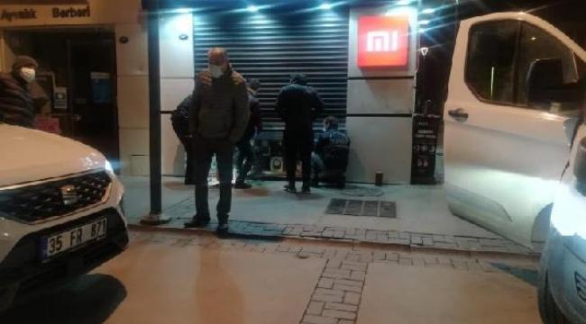 İzmir Konak'ta 13 yaşındaki çocuk şoka uğrattı!