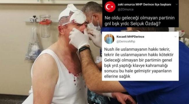 MHP'den saldırıya uğrayan Selçuk Özdağ paylaşımı: Yapanların eline sağlık!