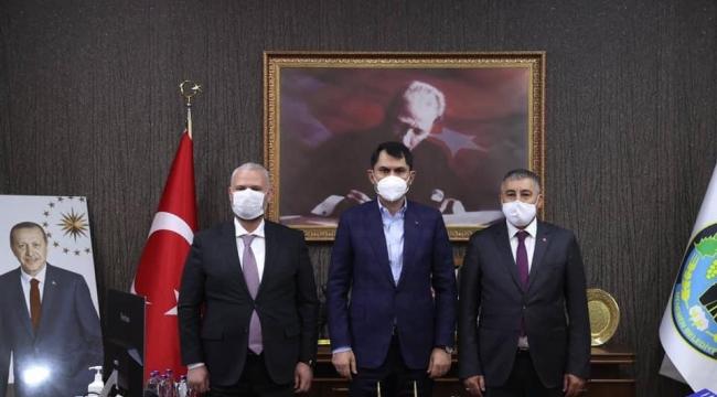 Bakan Kurum'dan Menemen'e 15 milyon TL'lik hibe sözü!