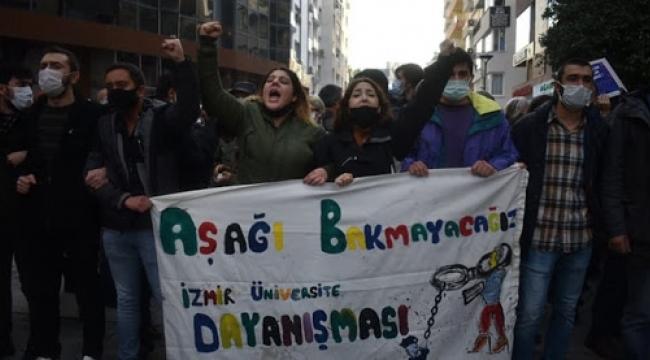 9 Eylül Üniversitesi'nde 35 öğrenciye Boğaziçi cezası!