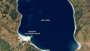 NASA'dan Salda Gölü paylaşımı: Mars'a dair fikir verecek