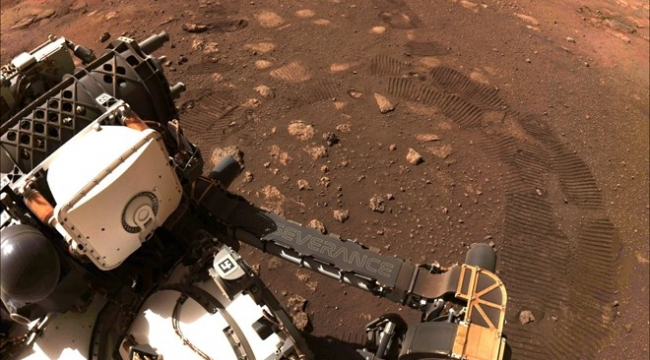 Perseverance Mars'ta ilk test sürüşünü gerçekleştirdi