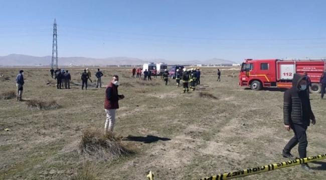 Konya'da eğitim uçağı düştü: 2 şehit