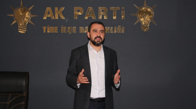 AK Parti Tire'den stat tepkisi: 70 Milyonluk stada 10 liralık kilit!