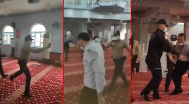 """Emniyet'ten """"camide biber gazlı müdahale"""" açıklaması: Provokasyon olduğu ortadadır"""