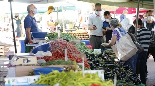 Konak'ta pazaryerlerine düzenleme: Servisler kullanılamayacak