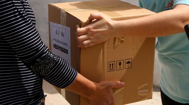 Selçuk'ta dayanışma paketleri dağıtılıyor!