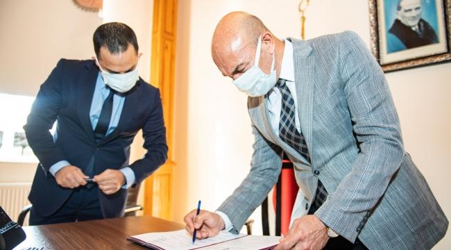 Soyer, Belediye İş Sendikası ile protokol imzaladı: Eşit işe eşit ücret