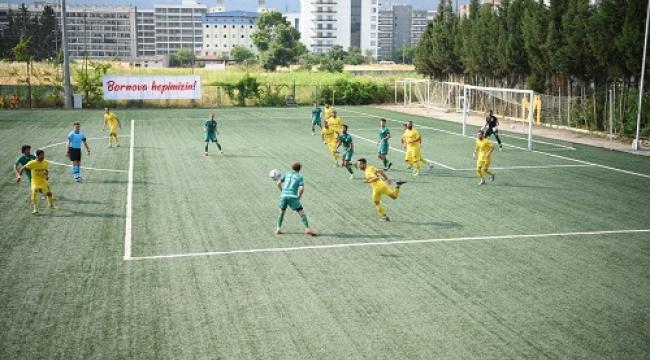 Bornova'nın yenilenen tesisinde ilk maç