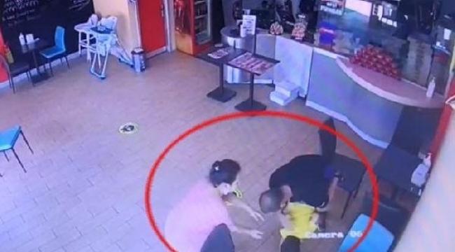 Pizza yerken boğulan çocuğu işletme sahibi hayatta tuttu!