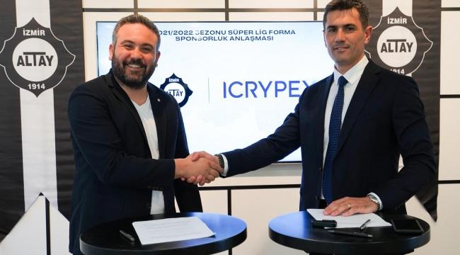Büyük Altay'ın yeni sponsoru: ICRYPEX