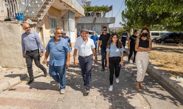 Kadifekale'ye sürpriz ziyaret: Soyer yayında verdiği sözü tuttu