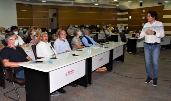 Bornova'da temel afet eğitimi