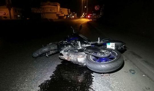 İzmir'de motosiklet kazası!