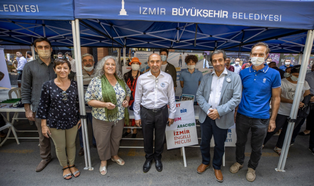 İzmir'de Otomobilsiz Kent Günü Kutlandı