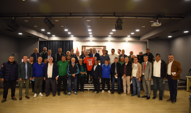 Amatör sporun kurmayları Bornova'da buluştu